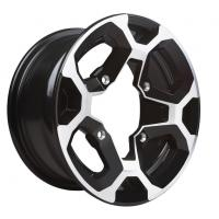 XT Rim 12'' x 7.5'' (rear) - Black/Machining